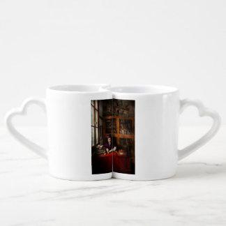Mago - mago en el entrenamiento 1898-1946 set de tazas de café