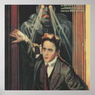 Mago principal del misterio de Harry Houdini Impresiones