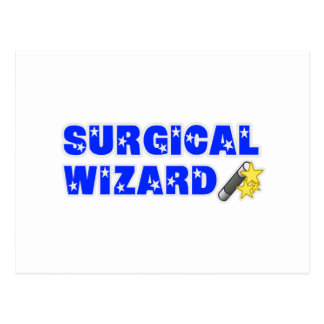 Mago quirúrgico tarjetas postales