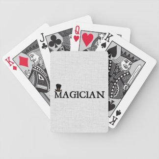 Mago y gorra cartas de juego