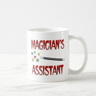 Magos auxiliares tazas de café