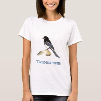 Magpie Bird, Birding, Nature, Wildlife, Garden T-Shirt