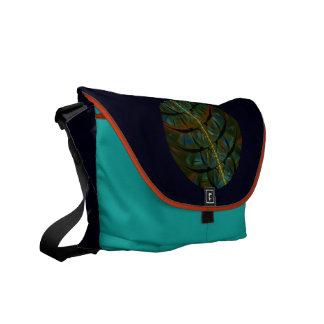 Magpie Crow Moon Messenger Bag