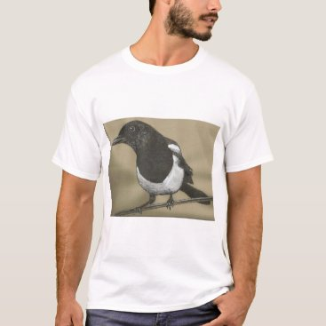 Art Themed Magpie Four T-Shirt