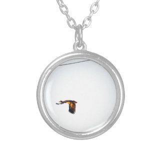 MAGPIE GOOSE RURAL QUEENSLAND AUSTRALIA SILVER PLATED NECKLACE