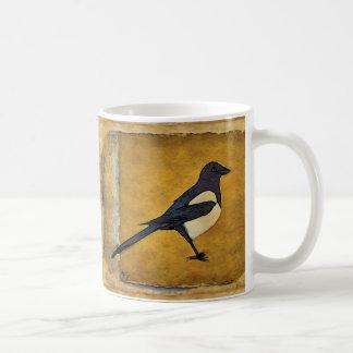Magpie Mug (antique style)