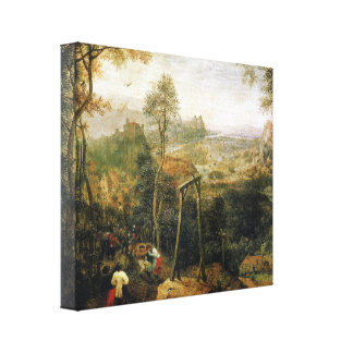 Magpie on the Gallows by Pieter Bruegel Canvas Print