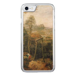 Magpie on the Gallows by Pieter Bruegel Carved iPhone 7 Case