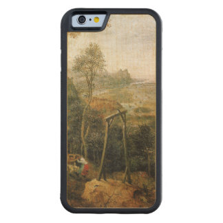 Magpie on the Gallows by Pieter Bruegel Carved® Maple iPhone 6 Bumper