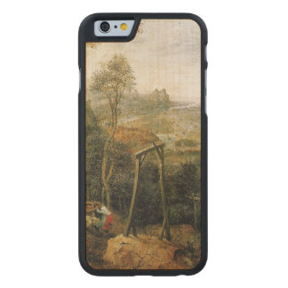 Magpie on the Gallows by Pieter Bruegel Carved® Maple iPhone 6 Slim Case