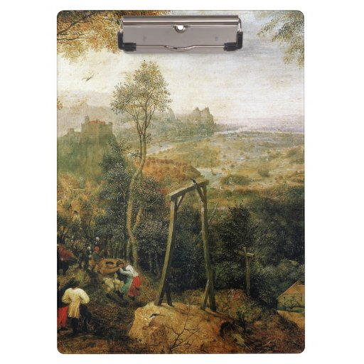 Magpie on the Gallows by Pieter Bruegel Clipboard