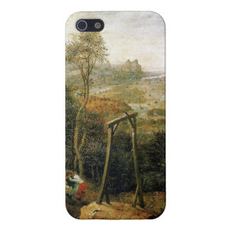 Magpie on the Gallows by Pieter Bruegel Cover For iPhone SE/5/5s