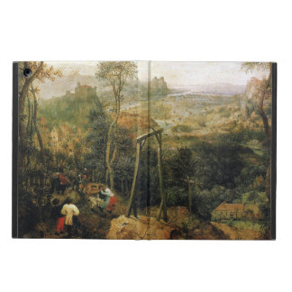Magpie on the Gallows by Pieter Bruegel iPad Air Case