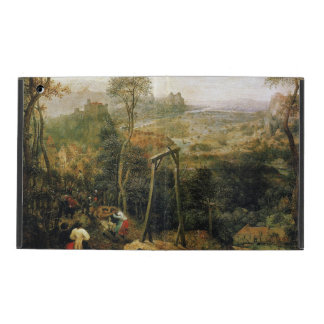 Magpie on the Gallows by Pieter Bruegel iPad Covers