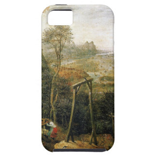 Magpie on the Gallows by Pieter Bruegel iPhone SE/5/5s Case