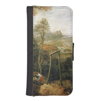 Magpie on the Gallows by Pieter Bruegel iPhone SE/5/5s Wallet