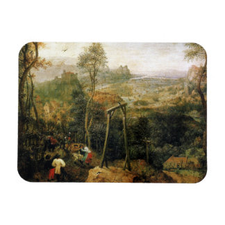 Magpie on the Gallows by Pieter Bruegel Magnet