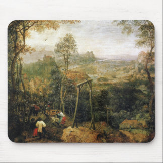Magpie on the Gallows by Pieter Bruegel Mouse Pad