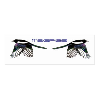 Magpies BookMark Business Card Templates