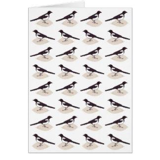 Magpies Card
