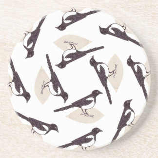 Magpies Drink Coaster