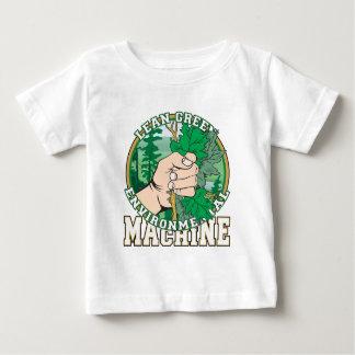 Magro, máquina ambiental del verde t shirts