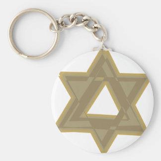 Maguen David II Key Chain