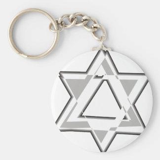 Maguen David III Keychain