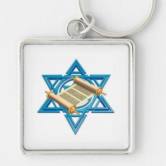 Maguen David Torah Keychain