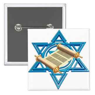 Maguen David Torah Pin Cuadrado