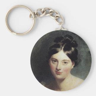Maguerite Countess of Blessington Keychain