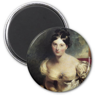 Maguerite Countess of Blessington 2 Inch Round Magnet