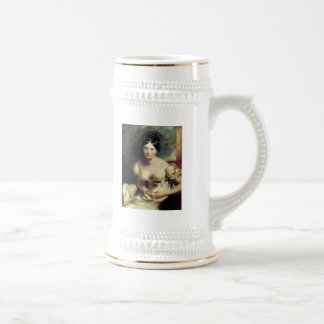 Maguerite Countess of Blessington 18 Oz Beer Stein