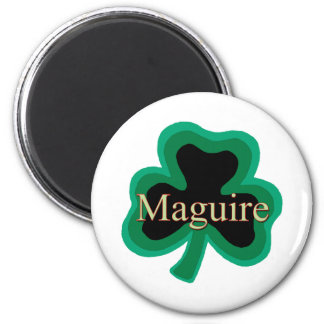 Maguire Family 2 Inch Round Magnet