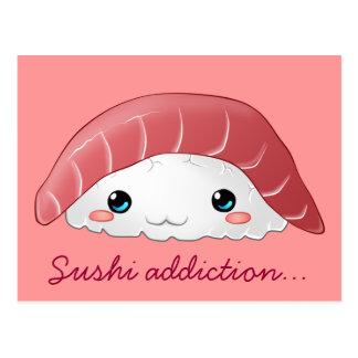 """Maguro sushi"" postcard"