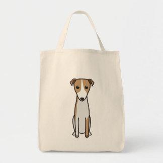 Magyar Agár Dog Cartoon Bag