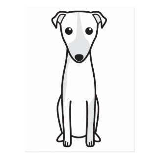 Magyar Agár Dog Cartoon Postcard