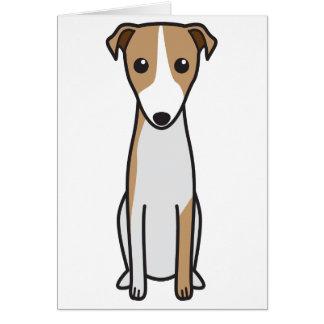 Magyar Agár Dog Cartoon Stationery Note Card