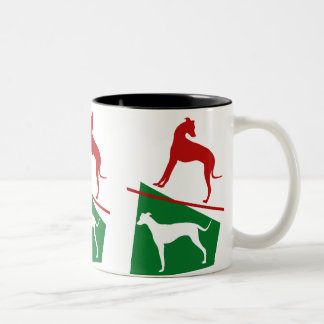 Magyar agar with the colors E Hungary Two-Tone Coffee Mug