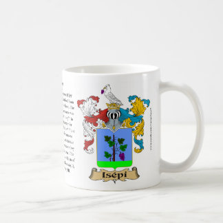 Magyar-Isepy coat of arms Classic White Coffee Mug