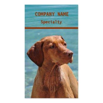 Magyar Vizsla Dog Business Cards