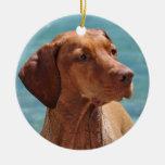 Magyar Vizsla Dog Christmas Tree Ornament