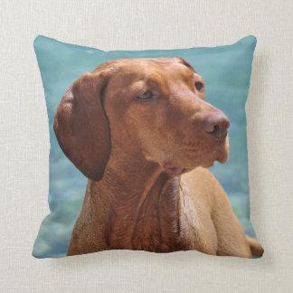 Magyar Vizsla Dog Throw Pillow