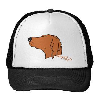 Magyar Vizsla head silhouette Trucker Hat