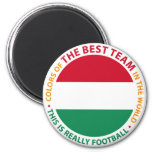 Magyarország Hungary Art Shield Refrigerator Magnet