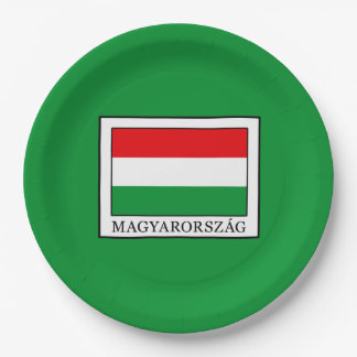 Magyarorszag Paper Plate