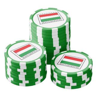 Magyarorszag Poker Chips Set