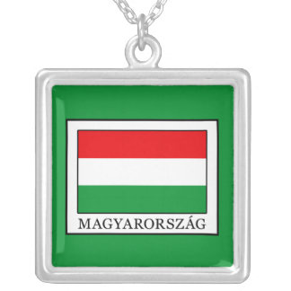 Magyarorszag Silver Plated Necklace