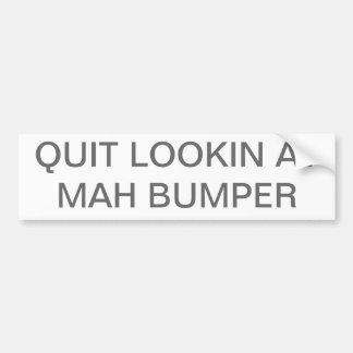 Mah Bumper Car Bumper Sticker