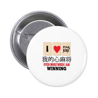 Mah Jong y el ganar Pin